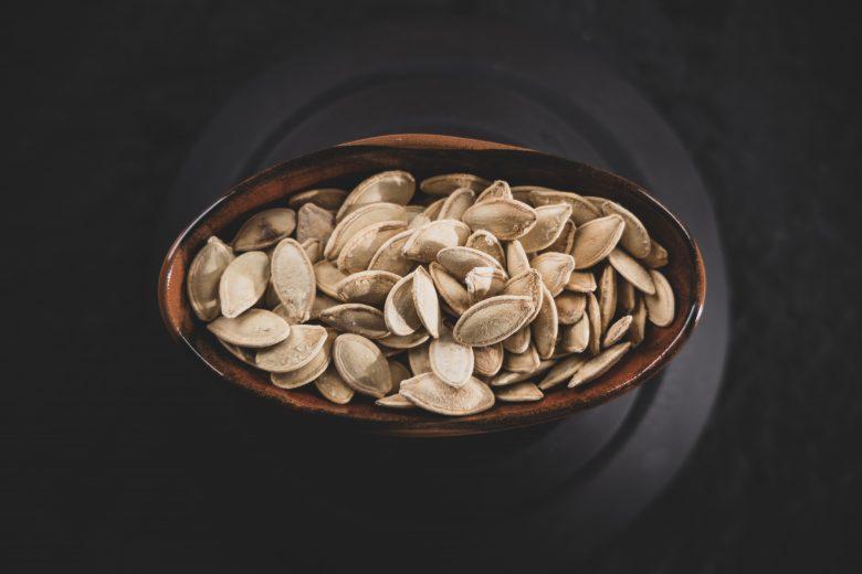 Présentation de graines de courges et de leurs bienfaits
