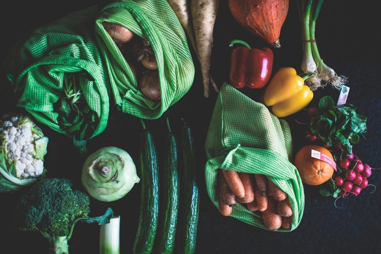 Aliments pour recette raw food